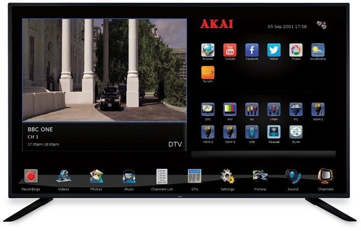 AKAI AKAI UHD Smart TV